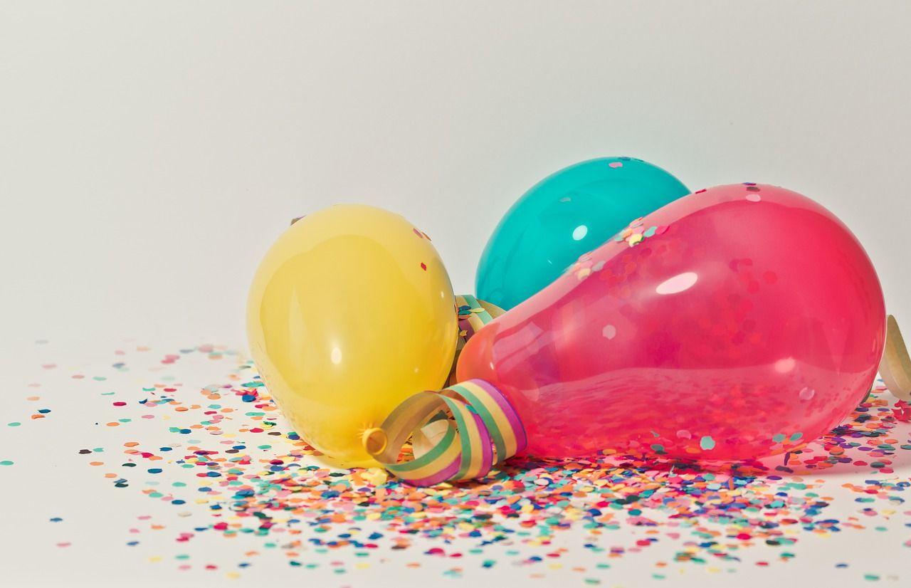 Balony na przyjęcie – co można wybrać?