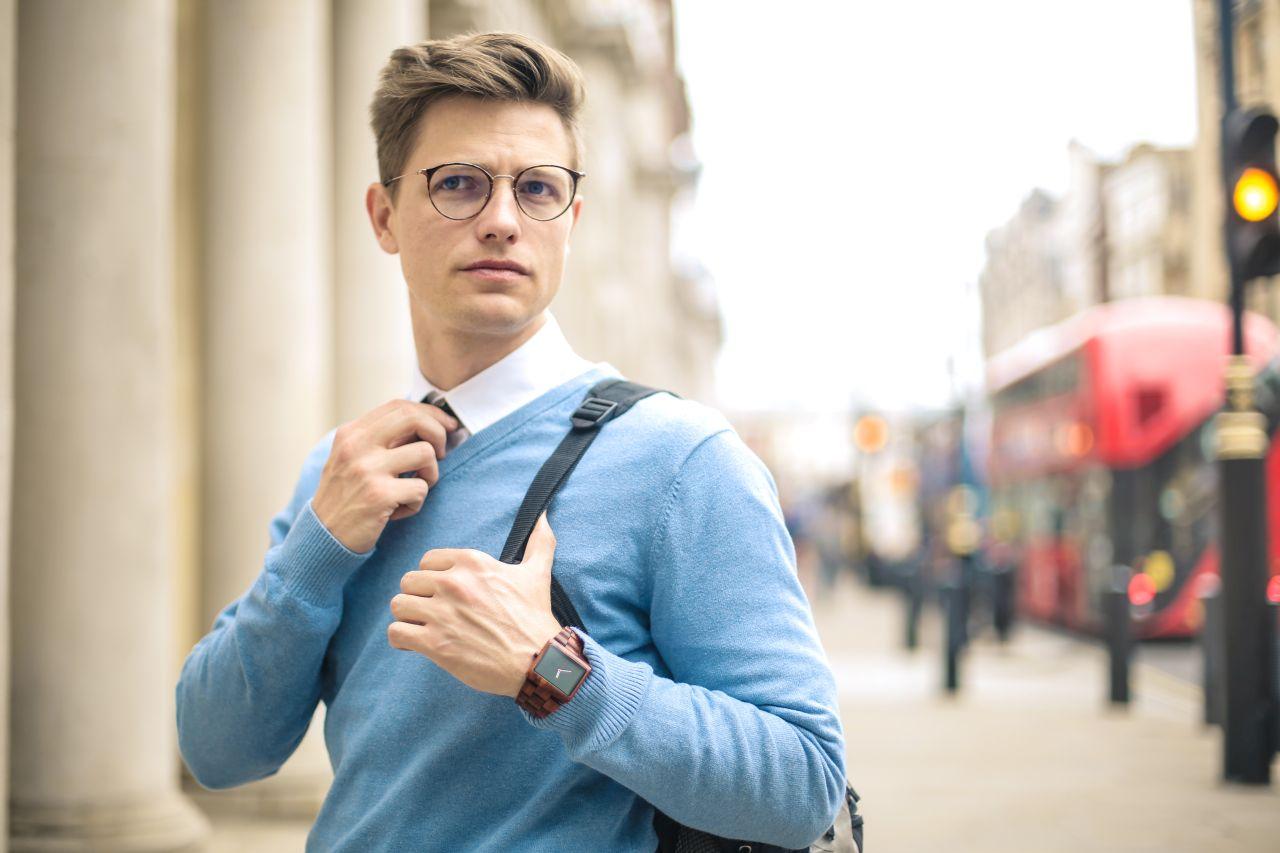 Modele stylowych okularów dla mężczyzn