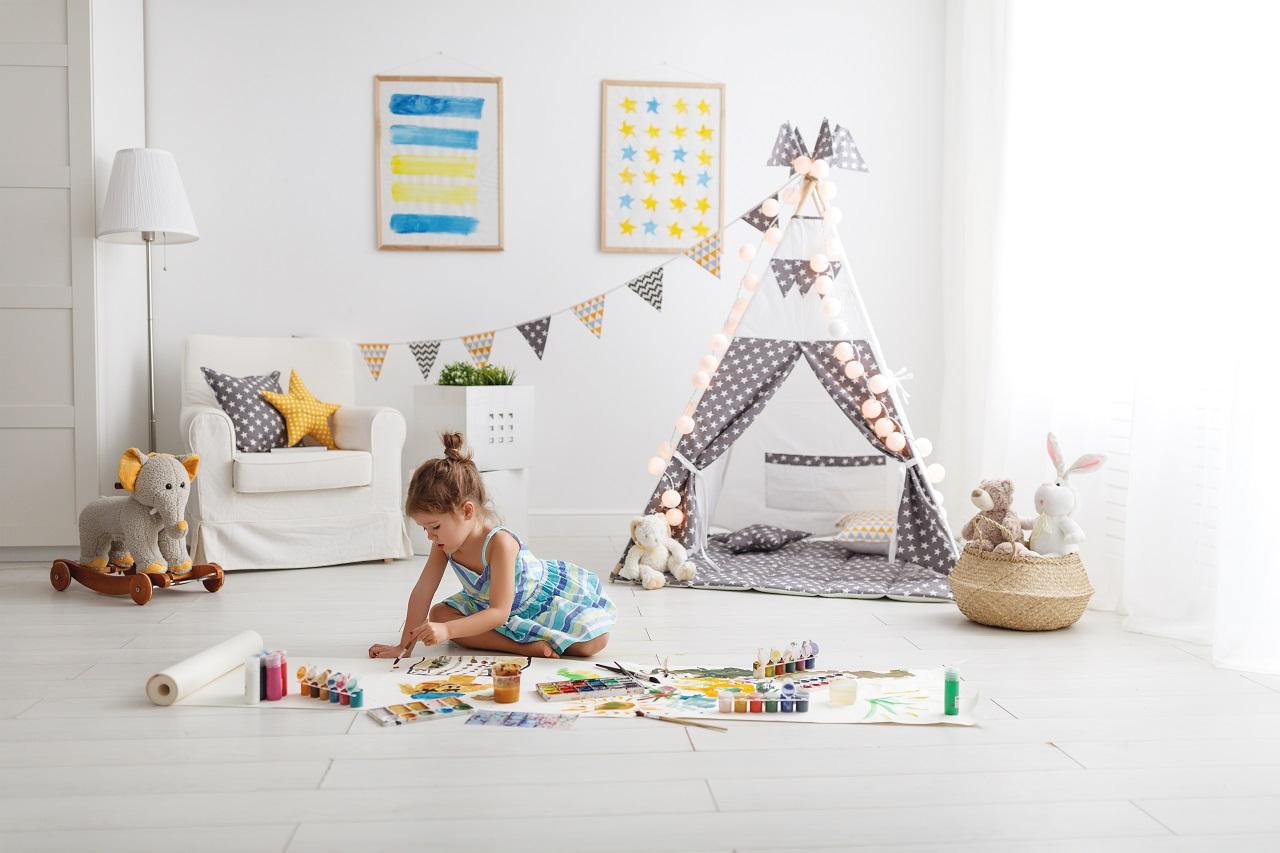 Sposoby, dzięki którym stworzysz dziecku przytulny pokój